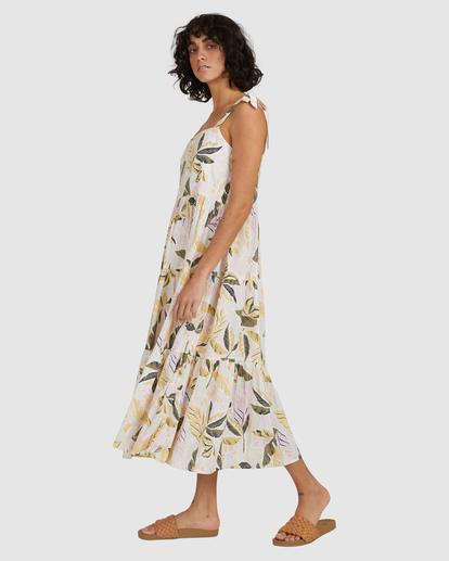 4 Sunset Seaspray Maxi Dress White UBJWD00192 Billabong
