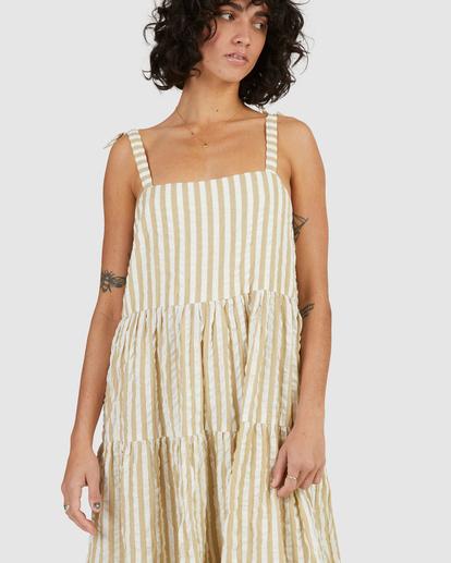 4 Sunset Seaspray Maxi Dress Green UBJWD00192 Billabong