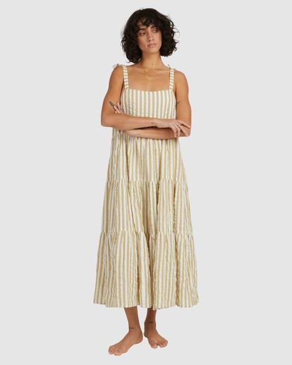 1 Sunset Seaspray Maxi Dress Green UBJWD00192 Billabong