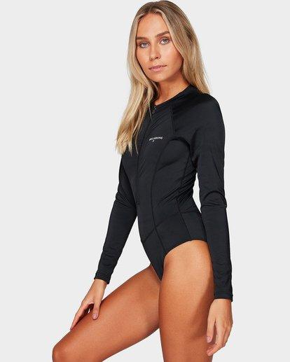 1 Sunday Funday Long Sleeve Swimsuit Black UBJWR00100 Billabong
