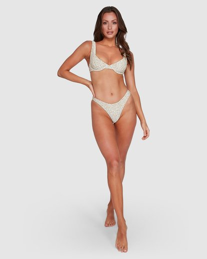4 Summer Love Bra Bikini Top Black UBJX300110 Billabong