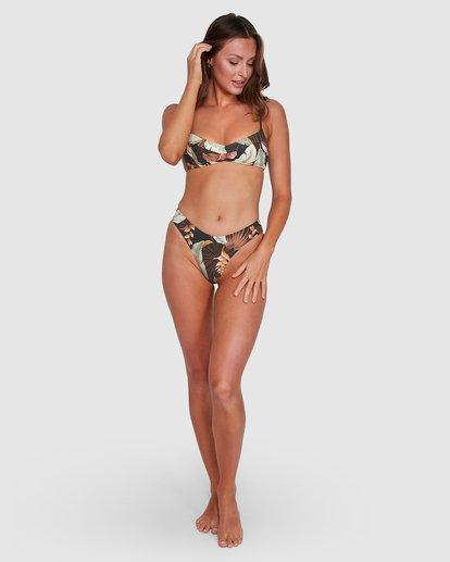 4 Tropicale Bondi Bikini Bottoms Black UBJX300115 Billabong