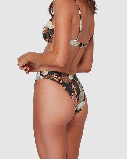 3 Tropicale Bondi Bikini Bottoms Black UBJX300115 Billabong