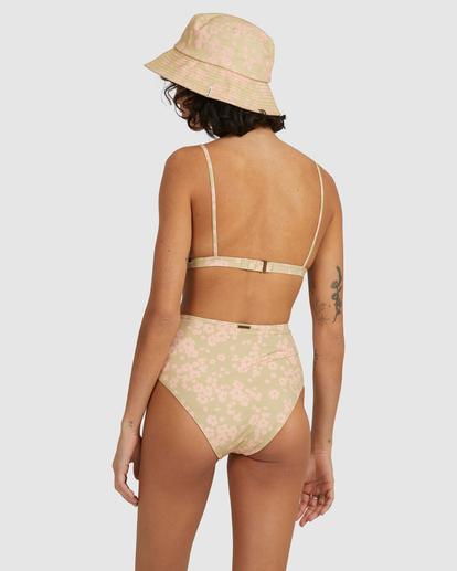 4 Dragonfly Coco Bralette Bikini Top Green UBJX300214 Billabong