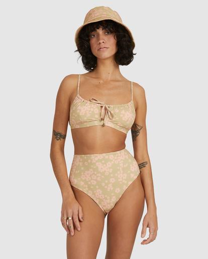 2 Dragonfly Coco Bralette Bikini Top Green UBJX300214 Billabong