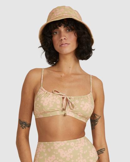 1 Dragonfly Coco Bralette Bikini Top Green UBJX300214 Billabong