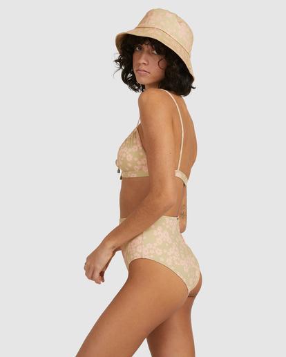 3 Dragonfly Coco Bralette Bikini Top Green UBJX300214 Billabong