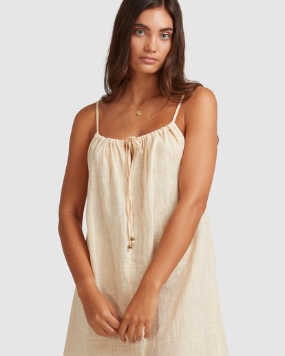 5 Sun Lovers Dress Cover Up Beige UBJX600102 Billabong