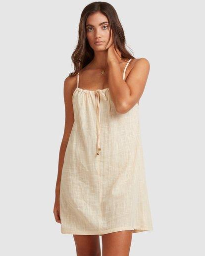 1 Sun Lovers Dress Cover Up Beige UBJX600102 Billabong