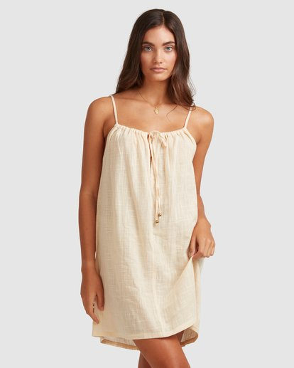 2 Sun Lovers Dress Cover Up Beige UBJX600102 Billabong