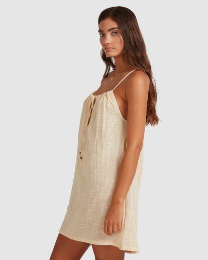3 Sun Lovers Dress Cover Up Beige UBJX600102 Billabong