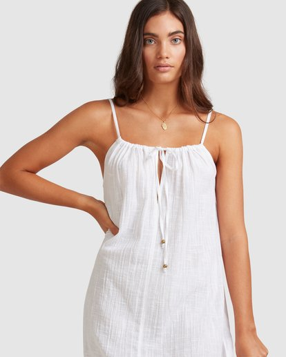 5 Sun Lovers Dress Cover Up White UBJX600102 Billabong