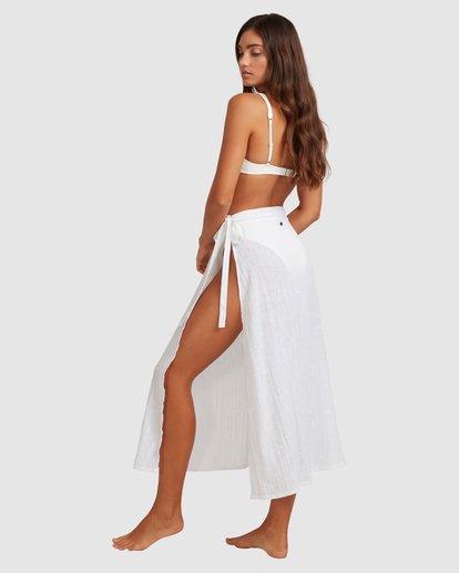 4 Sun Lovers Skirt Cover Up White UBJX600103 Billabong