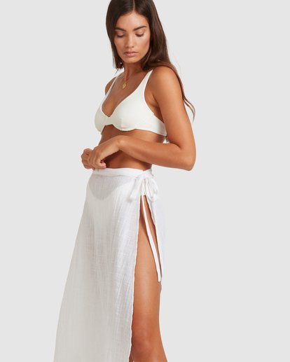 5 Sun Lovers Skirt Cover Up White UBJX600103 Billabong