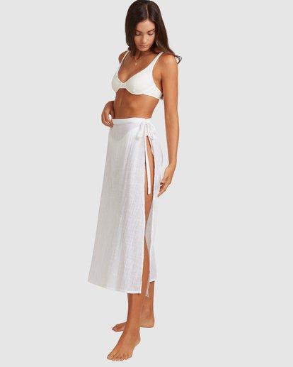 1 Sun Lovers Skirt Cover Up White UBJX600103 Billabong