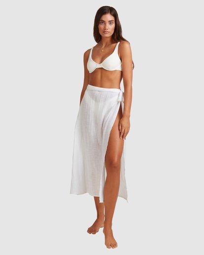 2 Sun Lovers Skirt Cover Up White UBJX600103 Billabong