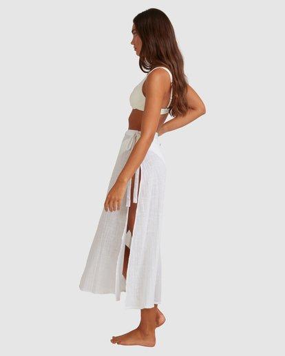 3 Sun Lovers Skirt Cover Up White UBJX600103 Billabong