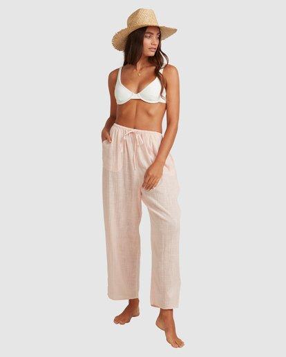 1 Sun Lovers Beachpant Cover Up Pink UBJX600105 Billabong