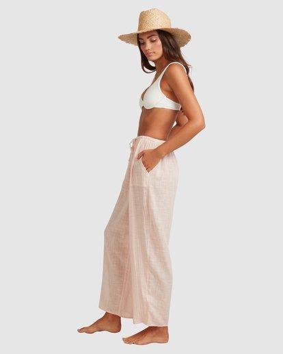 2 Sun Lovers Beachpant Cover Up Pink UBJX600105 Billabong