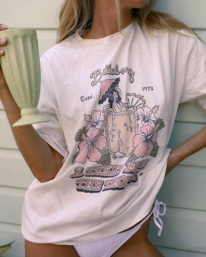 0 Tropical Treat T-Shirt White UBJZT00153 Billabong