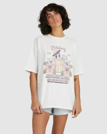 2 Tropical Treat T-Shirt White UBJZT00153 Billabong