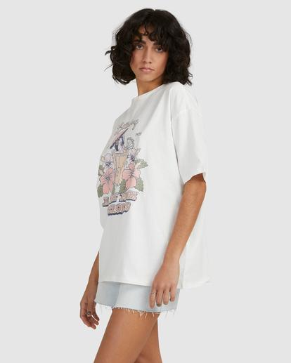 4 Tropical Treat T-Shirt White UBJZT00153 Billabong