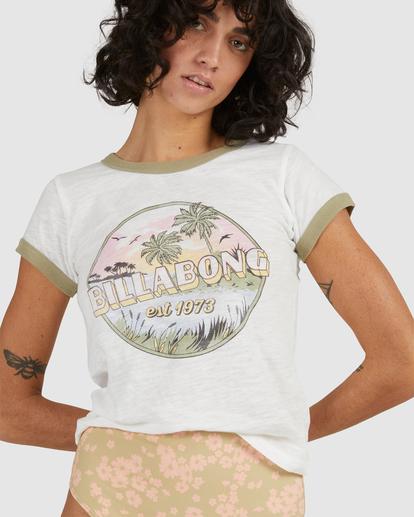 5 Island Daydream T-Shirt White UBJZT00155 Billabong