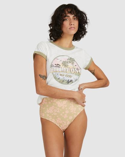 2 Island Daydream T-Shirt White UBJZT00155 Billabong