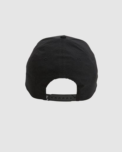 3 A/DIV Surftrek Ripstop Snapback Cap Black UBYHA00120 Billabong