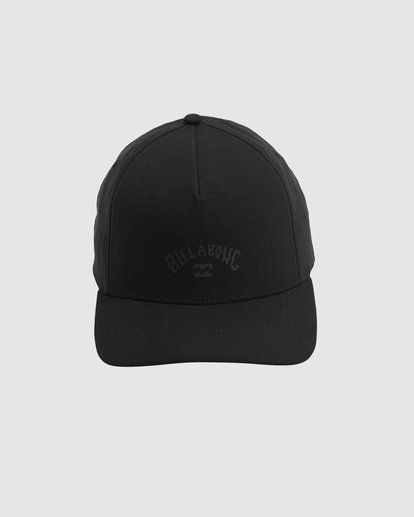 0 A/DIV Surftrek Ripstop Snapback Cap Black UBYHA00120 Billabong