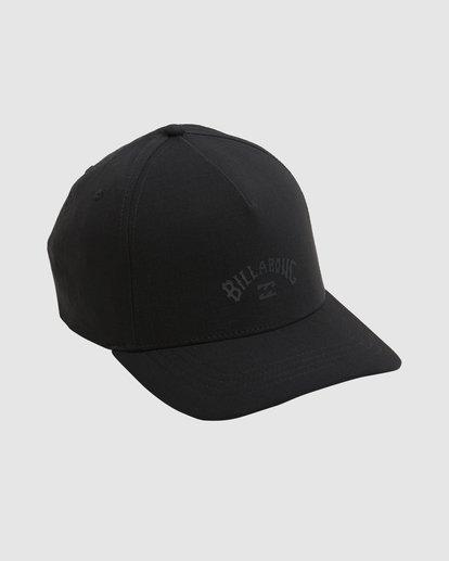 2 A/DIV Surftrek Ripstop Snapback Cap Black UBYHA00120 Billabong