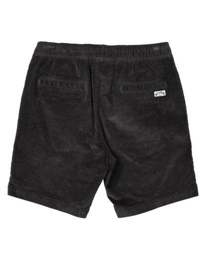 1 Larry Layback Cord Shorts Black UBYWS00102 Billabong