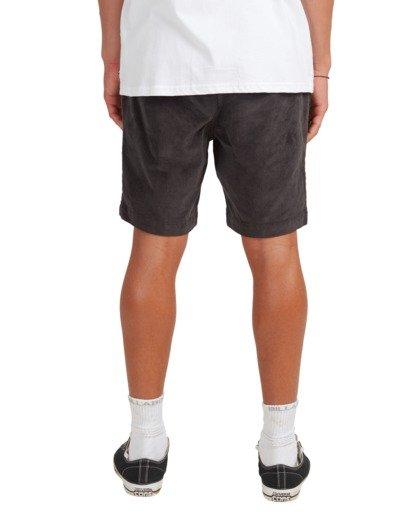 6 Larry Layback Cord Shorts Black UBYWS00102 Billabong