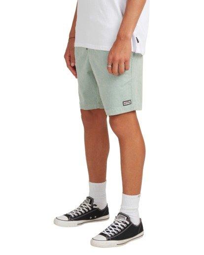 5 Larry Layback Cord Shorts Blue UBYWS00102 Billabong