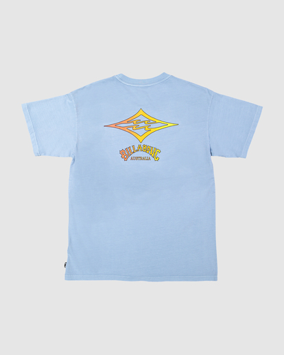 2 Diamond Fade Tee Blue UBYZT00228 Billabong