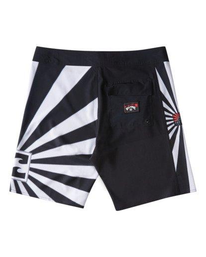 "7 Rising Sun AI D Bah Airlite 18.5"" - Board Shorts for Men Grey V1BS05BIW0 Billabong"