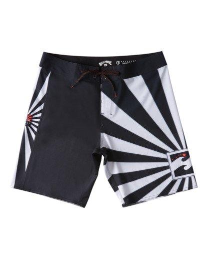 "6 Rising Sun AI D Bah Airlite 18.5"" - Board Shorts for Men Grey V1BS05BIW0 Billabong"