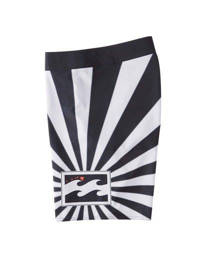 """8 Rising Sun AI D Bah Airlite 18.5"""" - Boardshort pour Homme Gris V1BS05BIW0 Billabong"""