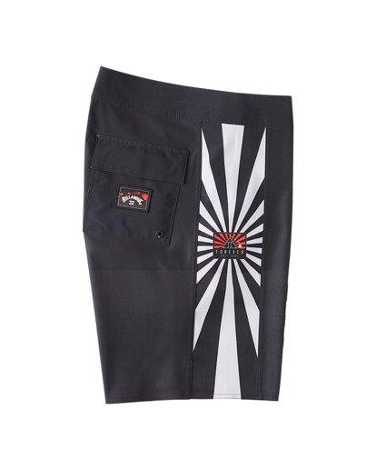 "9 Rising Sun AI D Bah Airlite 18.5"" - Board Shorts for Men Grey V1BS05BIW0 Billabong"