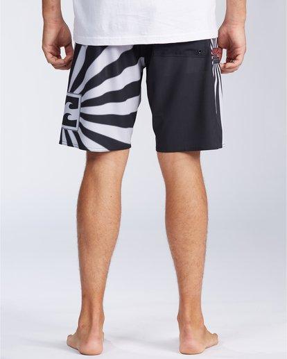 "1 Rising Sun AI D Bah Airlite 18.5"" - Board Shorts for Men Grey V1BS05BIW0 Billabong"