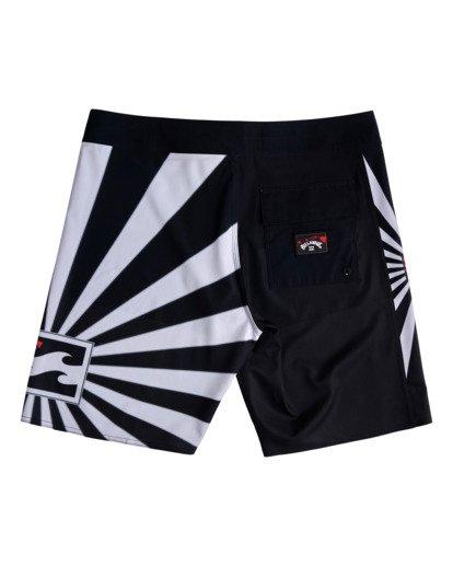 "5 Rising Sun AI D Bah Airlite 18.5"" - Board Shorts for Men Grey V1BS05BIW0 Billabong"