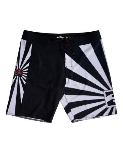 "4 Rising Sun AI D Bah Airlite 18.5"" - Board Shorts for Men Grey V1BS05BIW0 Billabong"