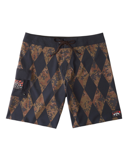 "6 Diamonds AI Pro 18.5"" - Board Shorts for Men  V1BS07BIW0 Billabong"