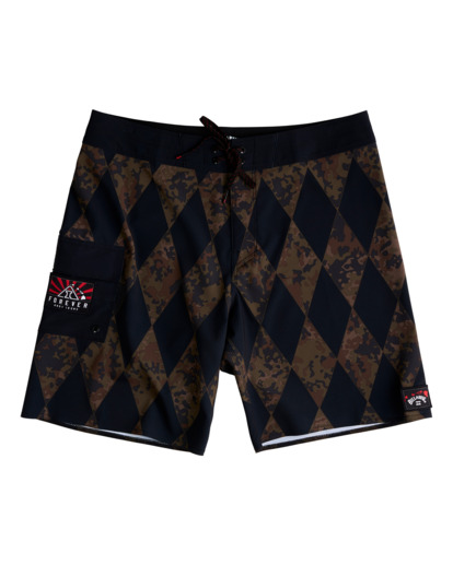 "4 Diamonds AI Pro 18.5"" - Board Shorts for Men  V1BS07BIW0 Billabong"