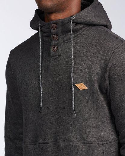 4 Hudson - Sweat à capuche pour Homme Noir V1FL02BIW0 Billabong