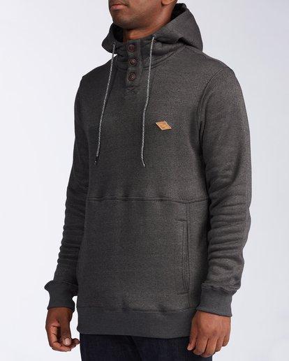 2 Hudson - Sweat à capuche pour Homme Noir V1FL02BIW0 Billabong