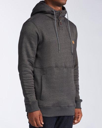 3 Hudson - Sweat à capuche pour Homme Noir V1FL02BIW0 Billabong