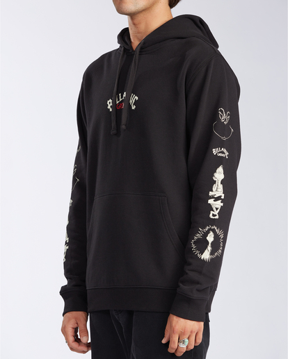 2 Grinchmas Vacation - Hoodie for Men Black V1FL19BIW0 Billabong