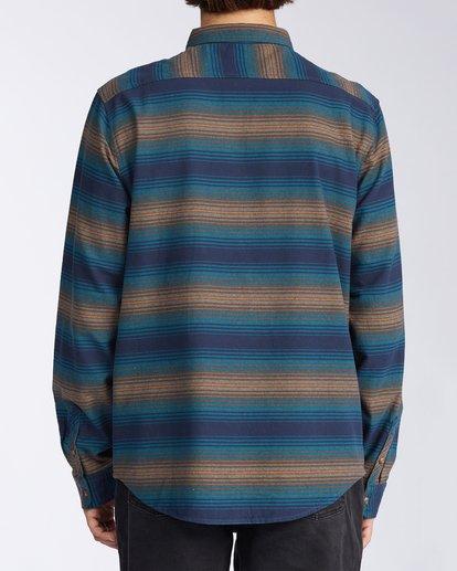 1 Coastline - Camisa de pana para Hombre Azul V1SH04BIW0 Billabong