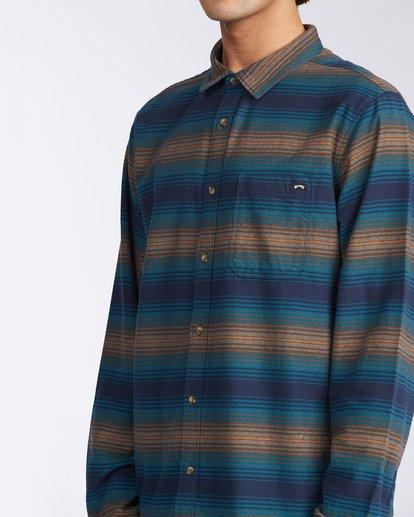 4 Coastline - Camisa de pana para Hombre Azul V1SH04BIW0 Billabong
